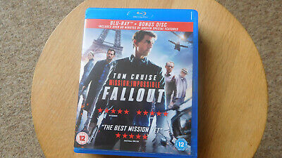 Mission: Impossible - Fallout Blu-ray (2018)