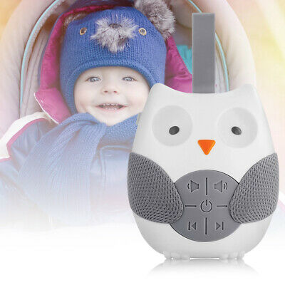Owl White Noise Sound Machine Sleep Aid Nature Sounds Sleeping Therapy Relax Kit