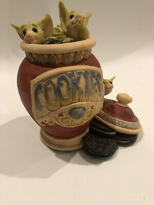 "Whimsical World of Pocket Dragons by RM - ""Raiding The Cookie Jar"" 1994"