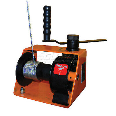 500kg Manual Worm Winch