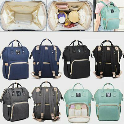 Luxury Multifunctional Baby Diaper Nappy Backpack Waterproof Mummy Changing  BO