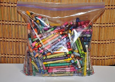 Bulk Lot Over 4 Lbs Broken Crayons Melt Down Craft Crafts