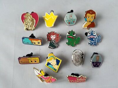 Disney Trading Pins Official Princesses Themed Collectible Lot of 12