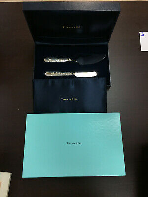 Audubon by Tiffany & Co. Sterling Silver Cake Serving Carving Set with Original