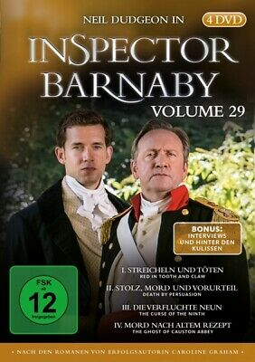 Inspector Barnaby Vol. 29 4x DVD-5 Neil Dudgeon Jane Wymark Barry Jackson Laura