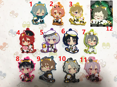 Hot Anime Idolish 7 Re:Vale Charm Rubber Strap Keychain Cosplay Pendant F169