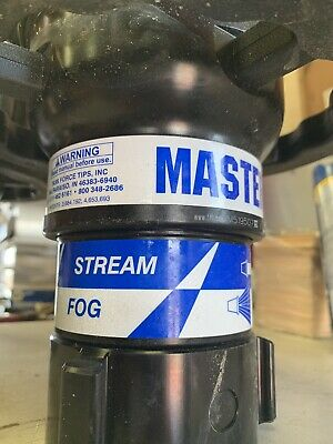 Master Stream 1000 Automatic pressure Control Fire Spray Nozzle