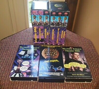 Mystery Science Theater 3000 VHS 9 BUNDLE LOT -The Movie 3 Pack Shorts TESTED
