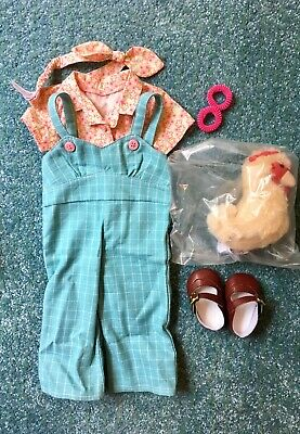 American Girl Kit Doll Kit's Chicken  Keeping Set 2015 Retired No Doll Included