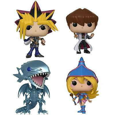 Funko Pop Animation: Yu-Gi-Oh! Series 1 27448.50.51.52 Set of 4 In stock