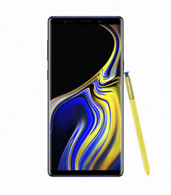 Samsung Galaxy Note9 SM-N960 - 128GB Ocean Blue Factory Unlocked. Preowned