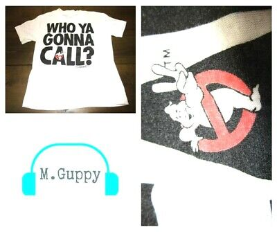 VTG 1989 Who Ya Gonna Call Ghostbusters Youth (8) T-Shirt Ghostbusters 2 Movie