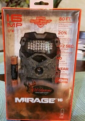 Wildgame Innovations Mirage 16 Trubark Low Glow Infared Game Trail Camera