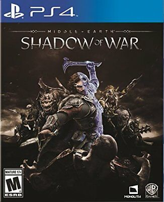 Middle-Earth: Shadow Of War - PlayStation 4 PS4 F/S F