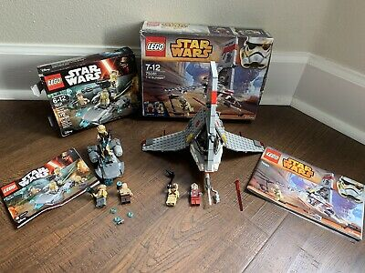 Lego Star Wars Sets 75081 And 75131. 100% COMPLETE With Boxes And Instructions.