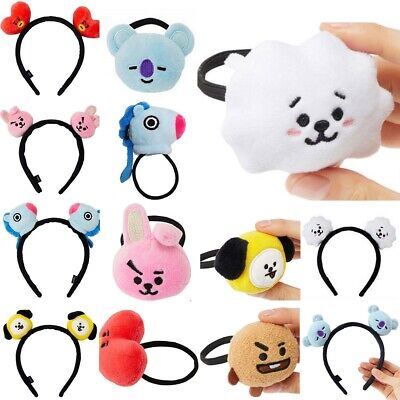 Kpop BTS Headbands Hair Band Tie Hairpin Bangtan Boys CHIMMY BT21 Tuck Comb Gift