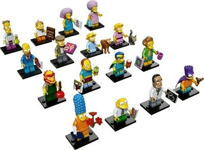 Lego Simpsons 2 Collectible Series Minifigures Complete Set of 16! 71009!