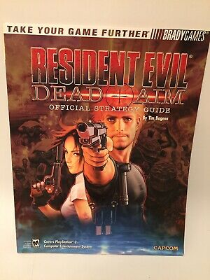 Resident Evil Dead Aim Official Strategy Guide BradyGames Playstation 2 Capcom