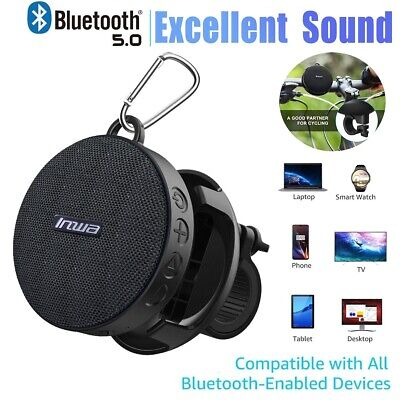 PORTABLE BLUETOOTH SPEAKER with AUX Input & Rechargeable