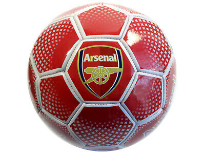 Arsenal AFC Football Size 5 Red Gift idea Training Practice Gunners White