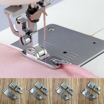 1pc Rolled Hem Presser Foot For Sewing Machine Sewing Supplies Tool Craft