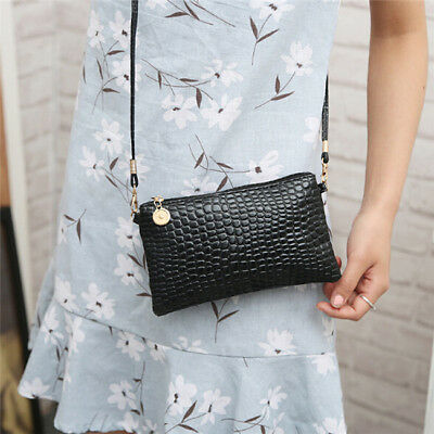 Womens Handbags Faux Leather Shoulder Crossbody Bags Messenger Bag Purse WL