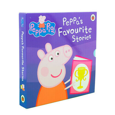 Peppa Pig Favourite Stories 10 Books Children Collection Paperback By Ladybird