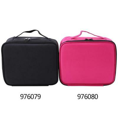 Large Beauty Makeup Nail Tech Cosmetic Box Artist Case Storage Bag Travel WL