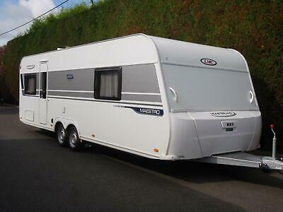 2016 Lmc 675 D Maestro,Very Caravan Rare With Separate Shower Cubicle