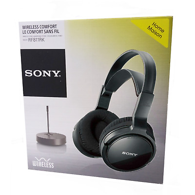 Sony MDR RF811RK Wireless Headphones with Bluetooth | 100m range / 13hrs life BK