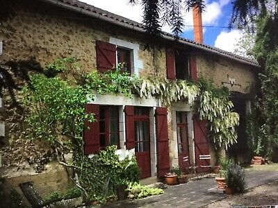 French Farmhouse ,with land . Nr Pressignac ,Charente Region , France