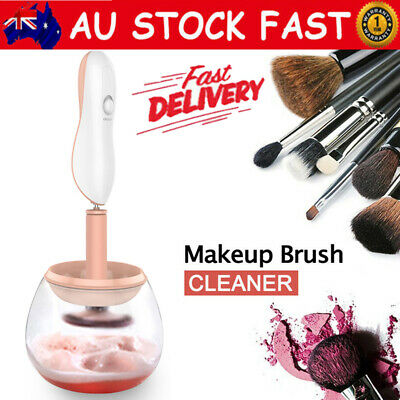 AU Makeup Brush Cleaner Washing Electric Make-up Brush Cosmetic Cleanser & Dryer