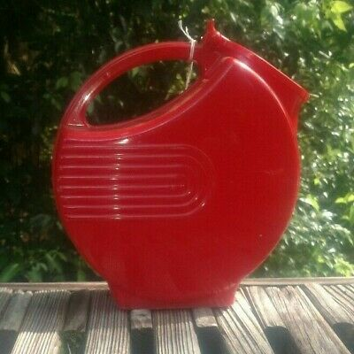 Vintage RED PITCHER / WATERING can - Please can I have some water