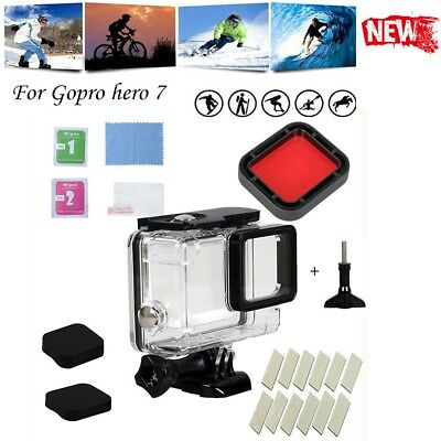 For GoPro Hero7 White/Silver/Black Waterproof Case Diving Protective Shell AU