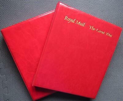 Royal Mail The Great War Collector Album With Slipcase & 15 Sleeves (Poppy Red)