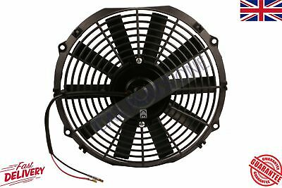 24V Universal Slim Radiator Fan Push/Pull 319mm x 300mm