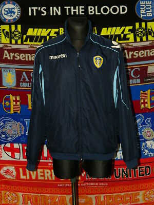 5/5 Leeds United adults L macron football soccer jacket