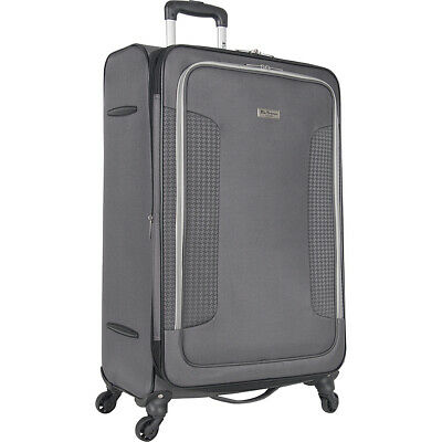 """Ben Sherman Luggage Houndstooth Hike 28"""" Lightweight Softside Checked NEW"""