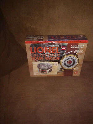 lionel collectible train watch