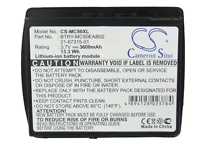 Replacement Battery For Symbol 3.7v 3600mAh BarCode, Scanner Battery