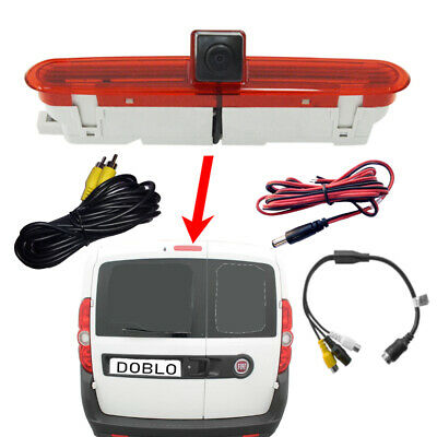 Reversing Reverse Brake Light Camera Suitable for Fiat Doblo Van 2010 - Onwards
