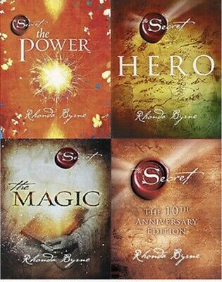 Rhonda Byrne Collection - The Secret, The Power, The Magic And The Hero. PDF