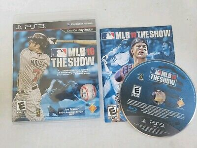 Mlb 10 The Show Playstation 3 Ps3 Complete In Box W/ Manual Cib Very Good