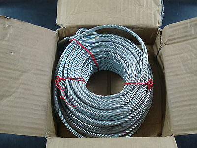 "Winch Cable GS 1/3"" x 120ft."