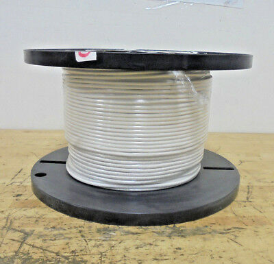 500' of White 10 AWG Tinned Copper Hook Up Wire
