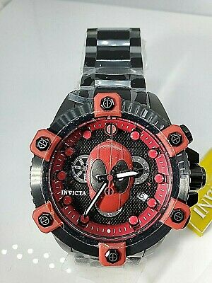 Invicta Marvel 48mm Octane Deadpool L.E. 585/3000 Swiss Quartz Watch
