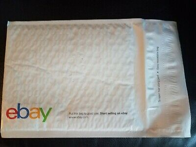 "New 25 EBay Branded Airjacket Padded Envelopes Size 9.5"" x 13.25""  Double seal"
