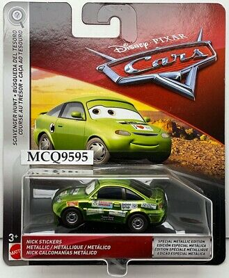 DISNEY PIXAR CARS METALLIC NICK STICKERS SCAVENGER HUNT 2019 SAVE 6/% GMC