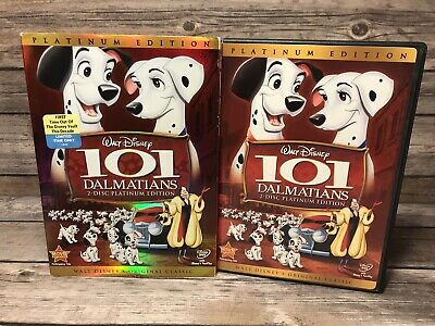 101 Dalmatians (DVD, 2008, 2-Disc Set, Platinum Edition) Walt Disney