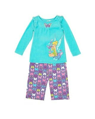 New Disney pj Age 5-6 cm up to 116 cm Fairies Velour Pyjamas/ Tinkerbell/luxury